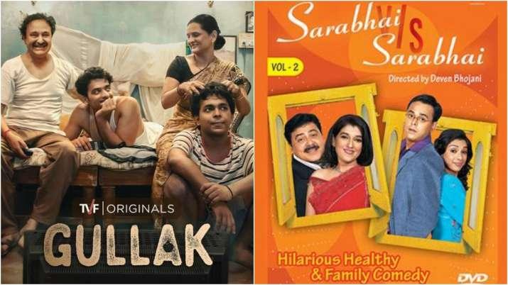 Posters of Gullak, Sarabhai vs Sarabhai