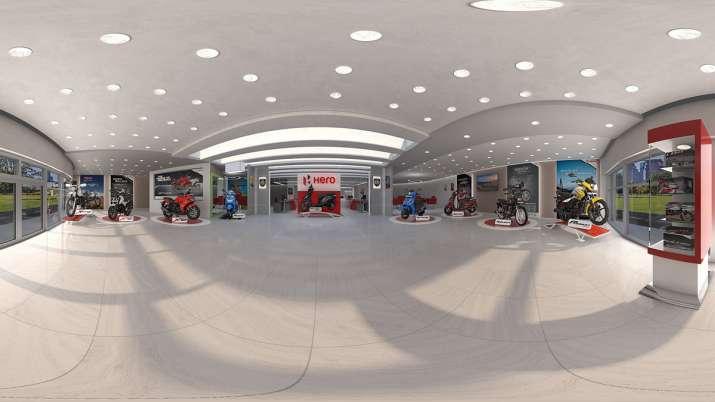 Hero virtual showroom