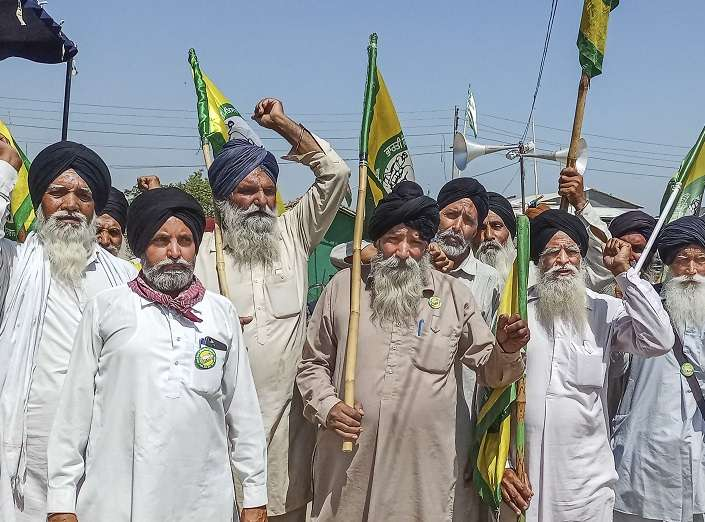 Farmer unions to observe 'black day' protest on Wednesday,