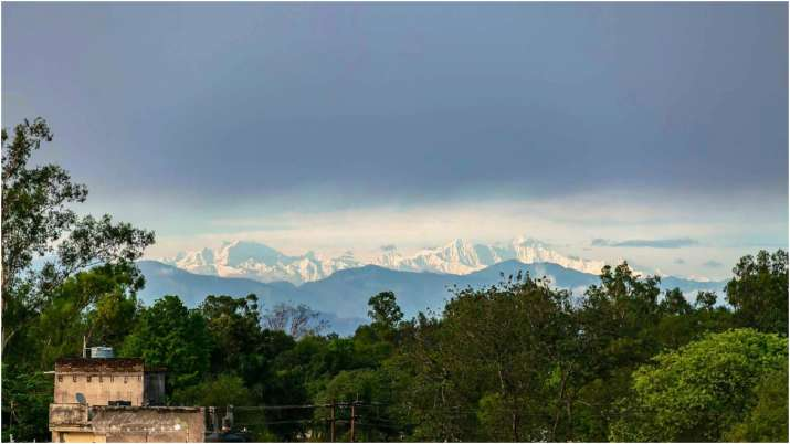 Himalayas clicked from Saharanpur