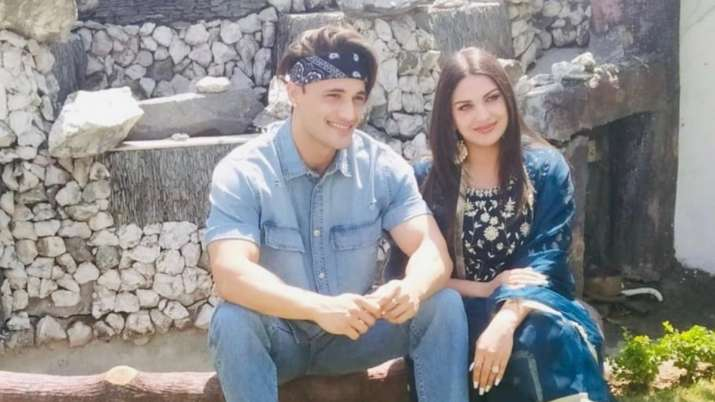 Asim Riaz And Himanshi Khurana celebrate Eid together