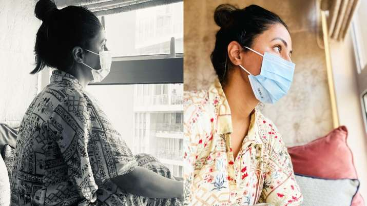 Hina Khan calls herself 'helpless daughter' for being unable to comfort her mother after father's de