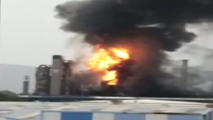 Fire breaks out at HPCL plant in Visakhapatnam