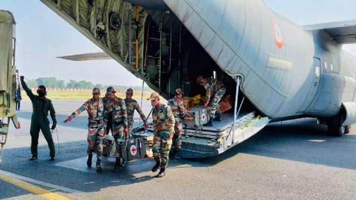 COVID-19, Indian Army, field hospitals, North East, Patna, bihar, coronavirus pandemic, covid second