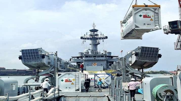 Operation Samudra Setu II, INS Shardul, Indian Navy, Kochi, 87 Metric Tonnes, liquid oxygen supply,
