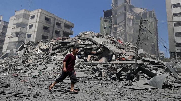 India Tv - Israel attack in Gaza