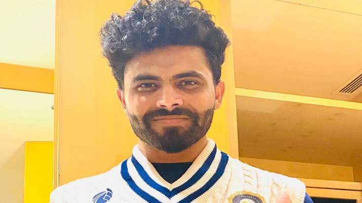 Ravindra Jadeja shared the first picture of India's 'Rewind to 90s' jersey for the WTC Final against
