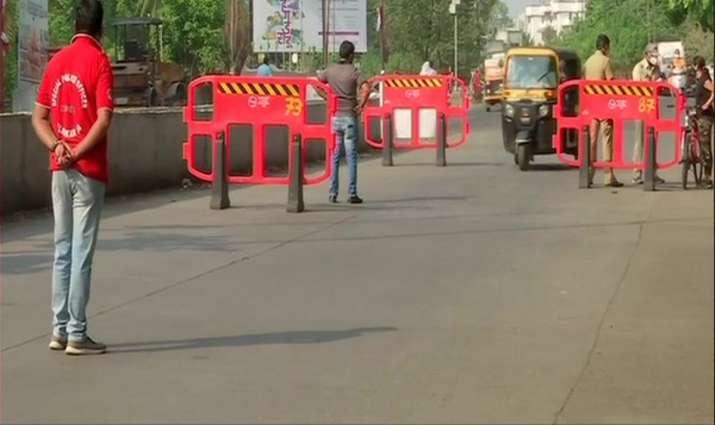 Pune police enforced complete weekend lockdown