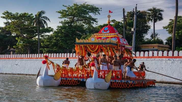 Chandan Yatra of Lord Jagannath temple begins in Puri amid Covid protocols