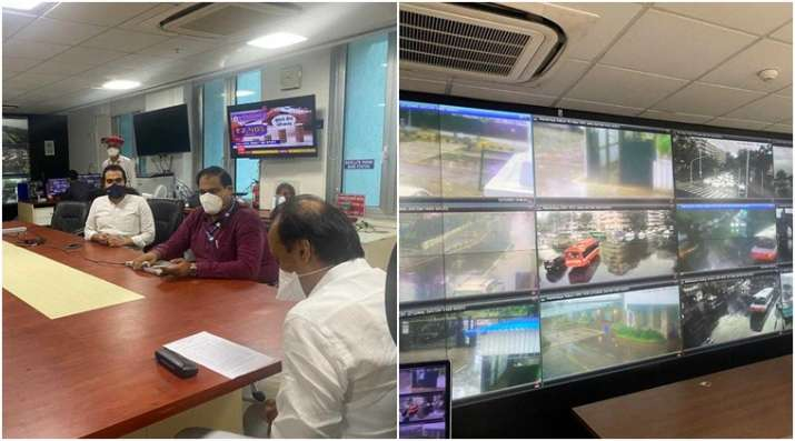 India Tv - Maharashtra Dy CM Ajit Pawar in control room