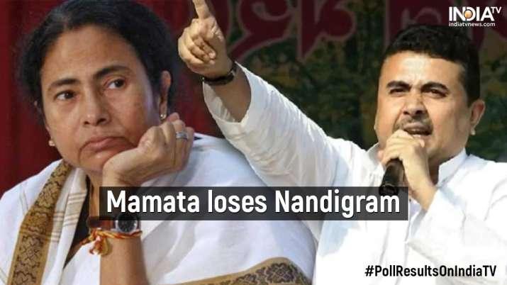 Mamata Banerjee loses Nandigram seat against Suvendu