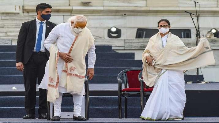 PM Modi Mamata Banerjee