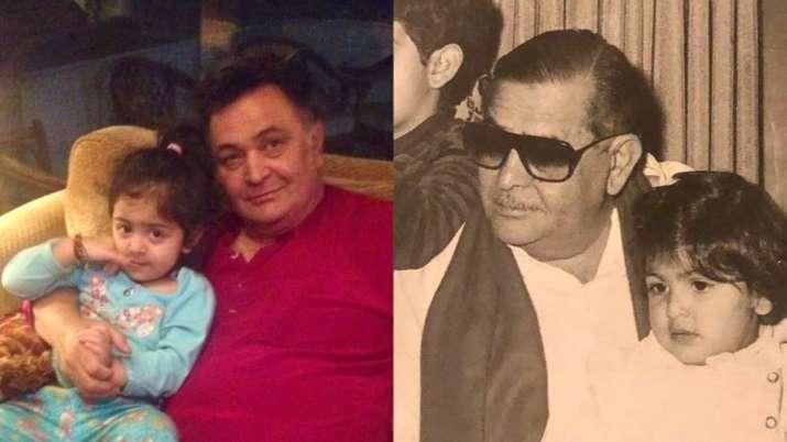 Neetu Kapoor treats fans with throwback pics of Rishi, Raj Kapoor as grandfathers. Seen yet?