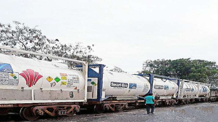 Oxygen Express, liquid medical oxygen, India, trains, coronavirus pandemic, covid updates, corona ox