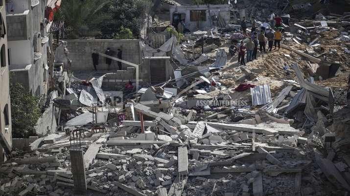 India Tv - Hamas, Israel, fighting escalates, truce efforts, gaza violence, Hamas rulers, Palestinian territory