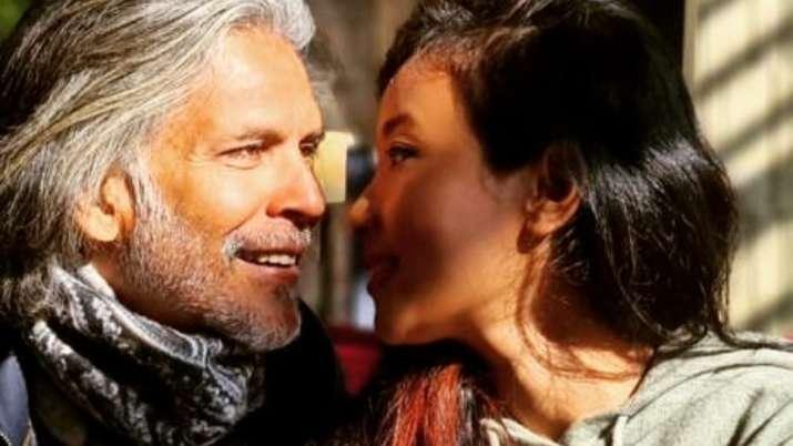 Milind Soman shares romantic selfie with wife Ankita Konwar