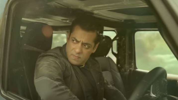 Salman Khan's power packed avatar in Radhe Your Most Wanted Bhai's BTS video sets internet ablaze