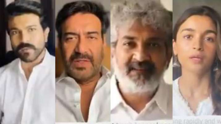 COVID19: RRR stars Alia Bhatt, Ram Charan, Ajay Devgn, Jr NTR