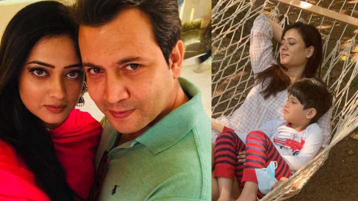 Shweta Tiwari shares shocking CCTV video of ex-husband Abhinav Kohli physically abusing her & son Reyansh - India TV News