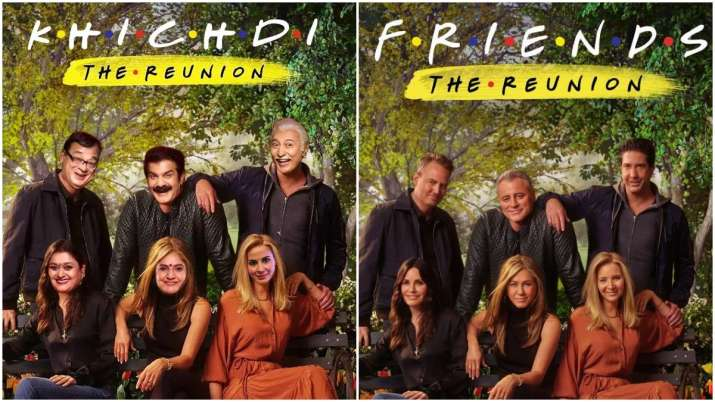 Khichdi producer JD Majethia's Indian twist to F.R.I.E.N.D.S Reunion poster takes internet by storm