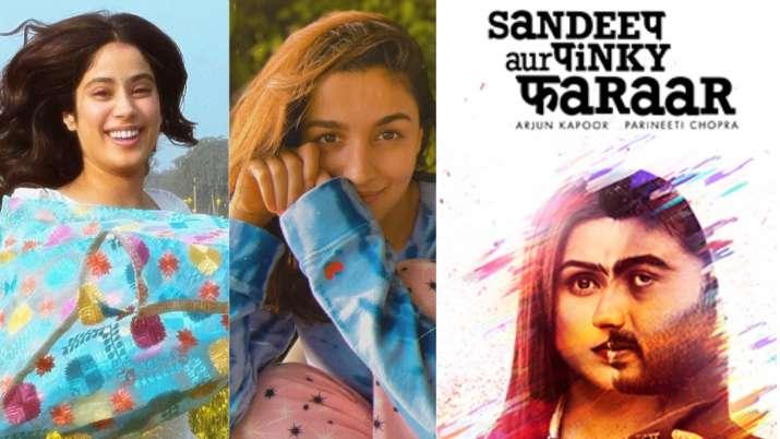 Alia Bhatt, Jahnvi Kapoor heap praises for Arjun Kapoor, Parineeti in Sandeep Aur Pinky Faraar