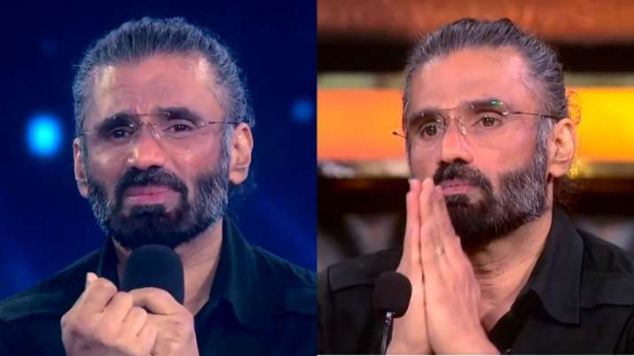 Super Dancer Chapter 4: Suniel Shetty gets teary eyed as contestants perform on Sandese Aate Hai