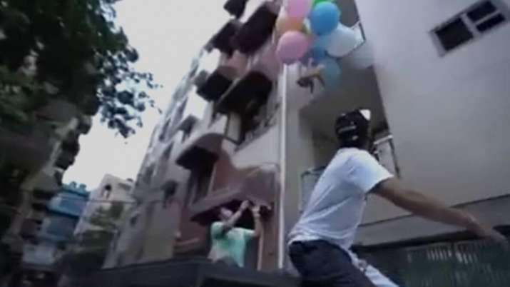 Delhi YouTuber ties pet dog with helium balloons to make it 'fly', gets arrested