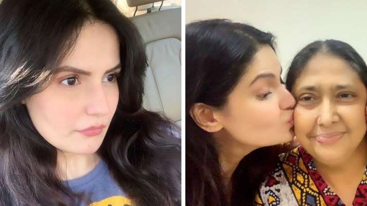 Zareen Khan urges fans to pray for her mother's health as she gets hospitalised again