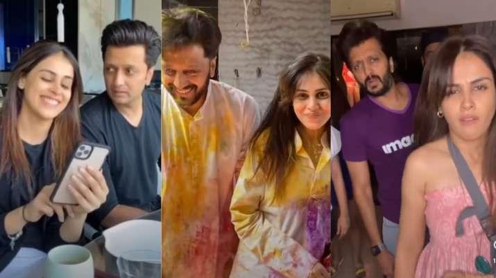 Super funny videos of Riteish Deshmukh, Genelia that will make you ROFL | WATCH