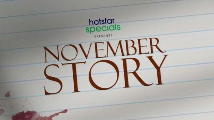 Disney+ Hotstar VIP sets premiere date for Tamannaah Bhatia's 'November Story'
