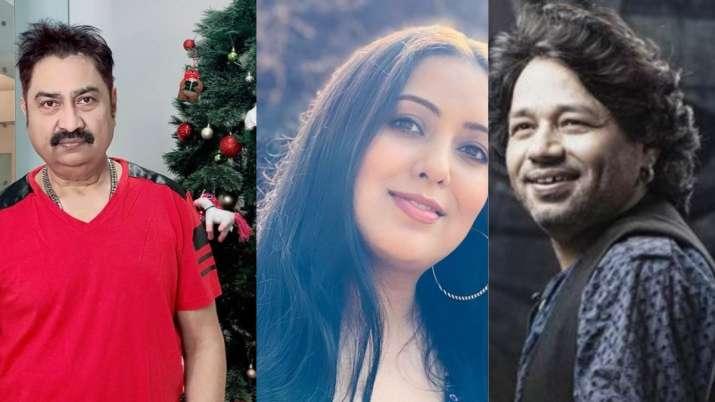 Kumar Sanu, Harshdeep Kaur, Kailash Kher
