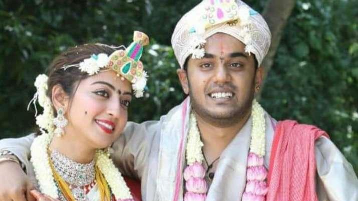 Pranitha Subhash marries businessman Nitin Raju in Bengaluru; see photos