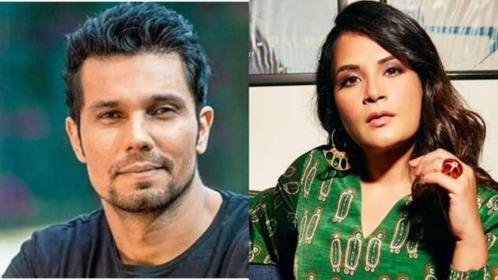 Richa Chadha, Randeep Hooda