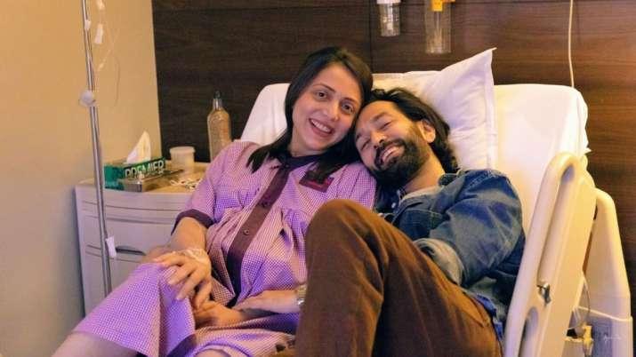 Nakuul Mehta, wife Jankee Parekh celebrate 3 months of their baby Sufi's birth