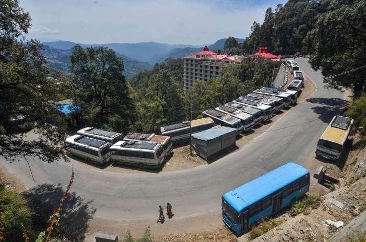 Shimla Curfew