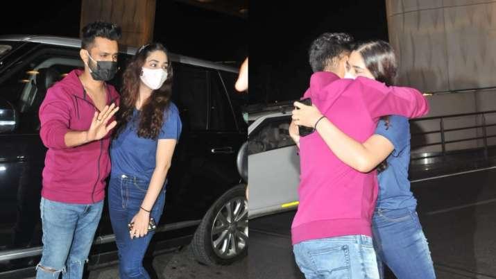 India Tv - Rahul Vaidya and Disha Parmar