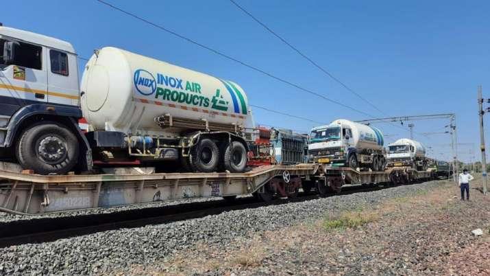 Oxygen Express, Indian Railways, delivers, 1195 Metric Tons, oxygen, 24 hours, coronavirus highest i