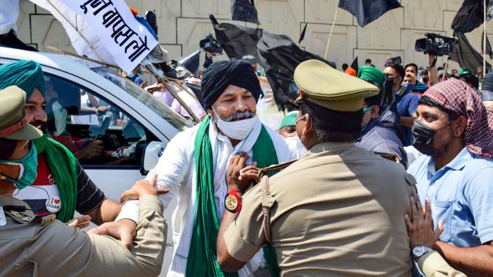 farmers protest ghazipur