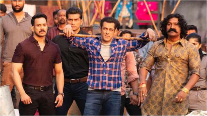Still of Salman Khan from Radhe