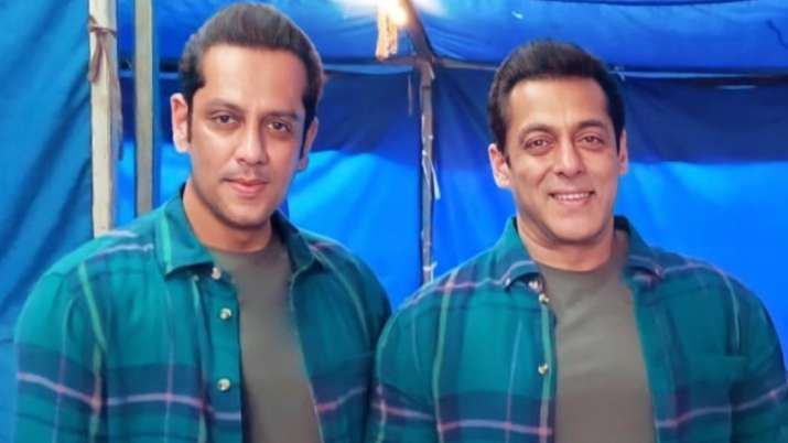 Salman Khan's pictures with body double Parvez Kazi from 'Radhe' sets go viral. Seen yet?