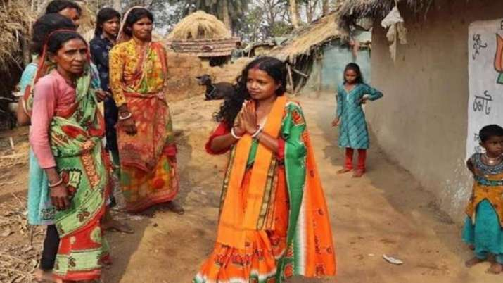 BJP's Chandana Bauri wins in Saltora