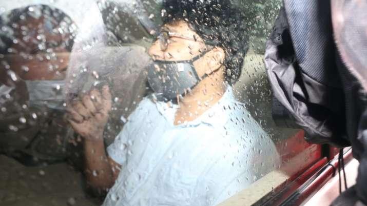 Siddharth Pithani during CBI investigation last year