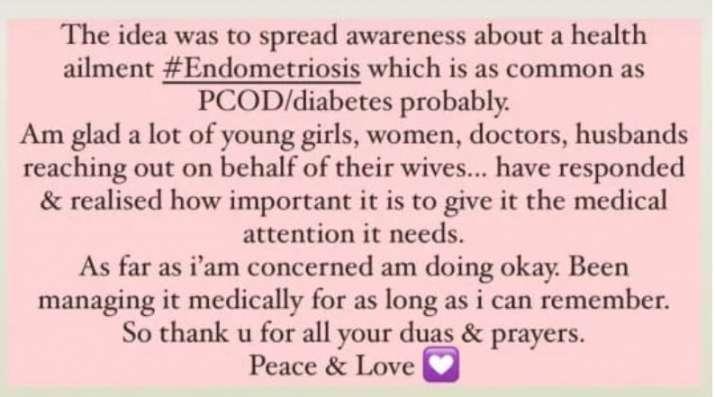 India Tv - Sumona Chakravarti shares health update after revealing endometriosis diagnosis