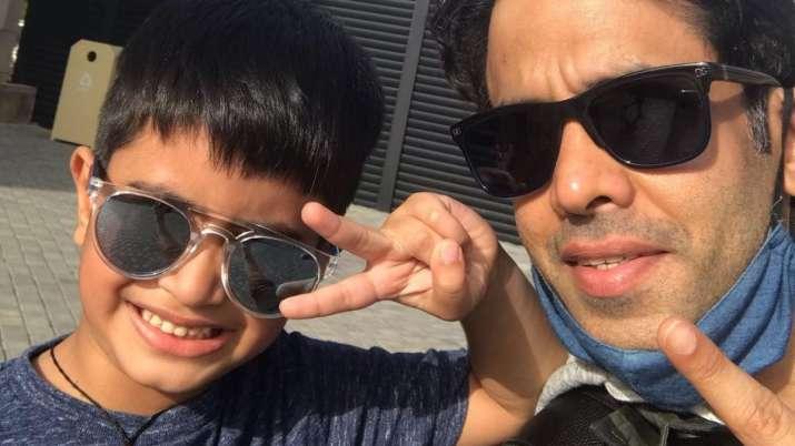 Tusshar Kapoor reveals son Laksshya loves dancing