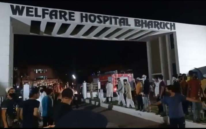 bharuch hospital fire