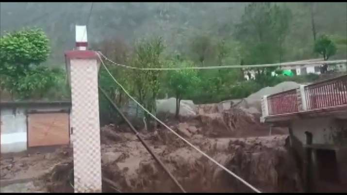 India Tv - Uttarakhand: Cloud burst in Rudraprayag, Uttarkashi districts