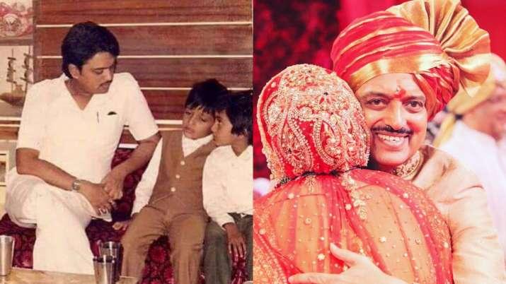 Riteish Deshmukh, wife Genelia D'Souza remember late father Vilasrao Deshmukh on 76th birth annivers