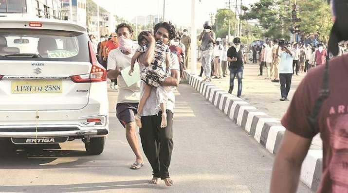 andhra pradesh gas leak