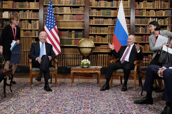 India Tv - Joe Biden Vladimir putin, Joe Biden Vladimir putin Meeting, Joe Biden Vladimir putin talks, Joe Bide