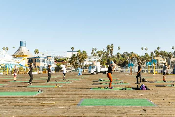 India Tv - International Yoga Day 2021: 7 unique yoga spots in the beach city Santa Monica